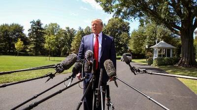 """Trump se nombra a sí mismo como """"el elegido"""" al defender su guerra comercial con China"""