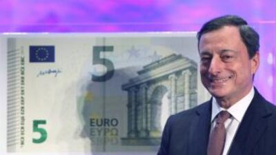 Nuevo billete de 5 euros comenzará a circular este jueves