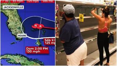 La costa este de EEUU se prepara para el impacto del Huracán Dorian