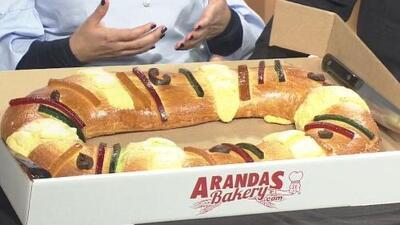 La 'rosca de reyes', comida tradicional en la celebración del Día de los Reyes Magos