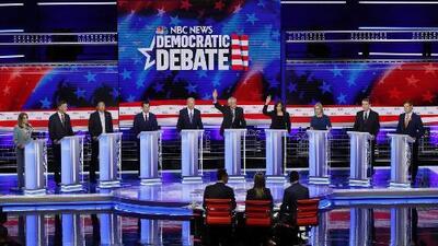 Inmigración, cambio climático y seguro médico: algunos de los temas de la segunda jornada del debate presidencial demócrata