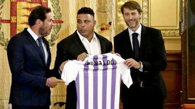 Gran gestión de Ronaldo tras un año como dueño del Valladolid