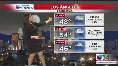 Lluvias leves, fuertes vientos y frío regresan al sur de California