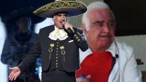 Vicente Fernández rompe en llanto durante entrevista y pide disculpas tras polémica foto