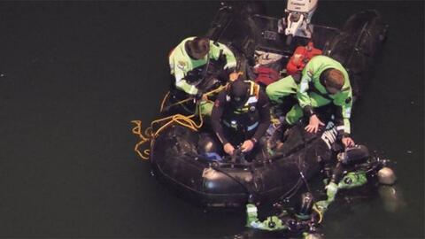 Recuperan los cuerpos de un padre y su hijo que murieron ahogados en una cantera rocosa