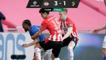 Regresa Erick Gutiérrez a la titular y PSV gana