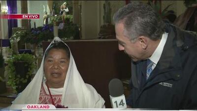 Festejos a la Virgen de Guadalupe en Oakland