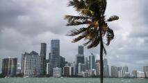 ¿Se esperan aguaceros en Miami durante la tarde del viernes?