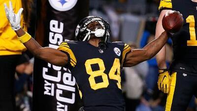 """Antonio Brown se despide de los Steelers: """"Es hora de seguir adelante"""""""