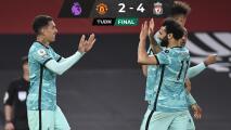Liverpool golea a domicilio al Manchester United