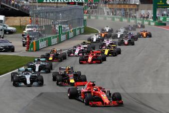 En fotos: Sebastian Vettel triunfa en el GP de Canadá y es nuevo líder de la F1