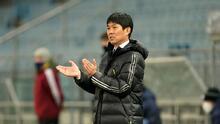 """Moriyasu, DT de Japón: """"Con México será un partido duro que nos ayudará a elevar el nivel"""""""