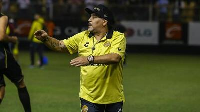 """Diego Armando Maradona, tras asegurar su pase a la Liguilla: """"Culiacán se lo merece"""""""