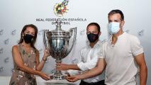 Atlético de Madrid recibió trofeo de un título que ganó hace 73 años