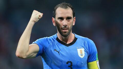 """Godín: """"Es un honor ser el jugador con más partidos en Uruguay"""""""