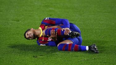Araujo, novedad del Barça en la convocatoria frente al Huesca