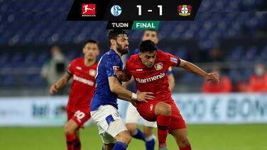 Leverkusen se mantiene en Champions con las uñas