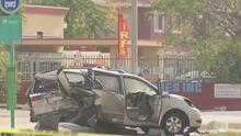 Buscan a conductor prófugo que provocó un accidente en Miami-Dade que dejó un muerto y seis heridos