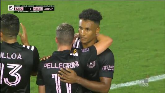 ¡Gol de Inter Miami! Juan Agudelo lo empató