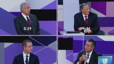 Esto es lo que ocurrió en el segundo debate entre los candidatos a la presidencia de México