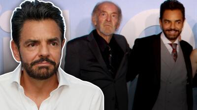 Eugenio Derbez lamenta la muerte de su 'papá' en 'Overboard', el actor Fernando Luján