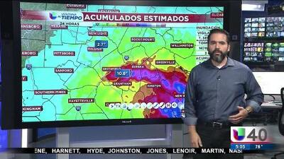Florence se degradó a tormenta tropical