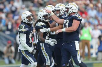 En fotos: Chargers apalean a Redskins y se acercan a playoffs