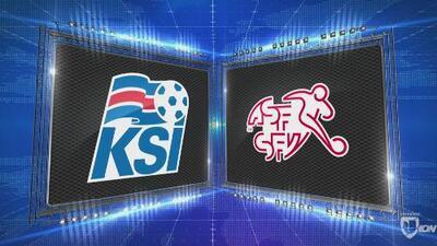 Islandia 1-2 Suiza - GOLES Y RESUMEN - Liga A - Grupo 2 - UEFA Nations League