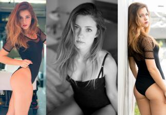 Sabrina Alexis, una hermosa modelo que encanta por su sensualidad angelical