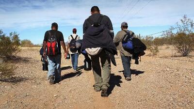 Aumenta inmigrantes cruzando la frontera después del anuncio de la orden de acción ejecutiva