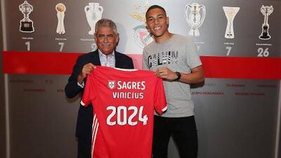 El Benfica ficha al brasileño Carlos Vinicius por 17 millones de euros