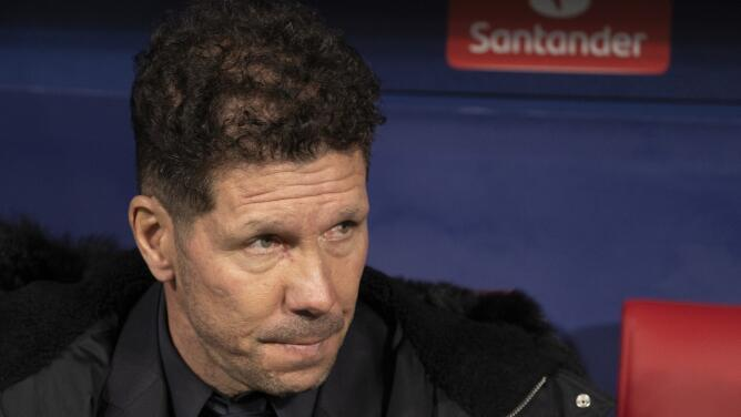 La UEFA le abrió expediente disciplinario al 'Cholo' Simeone