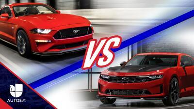 Ford Mustang v. Chevrolet Camaro: sea usted el juez