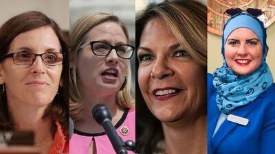 Cuatro mujeres en la batalla para ser la primera senadora de Arizona en Washington