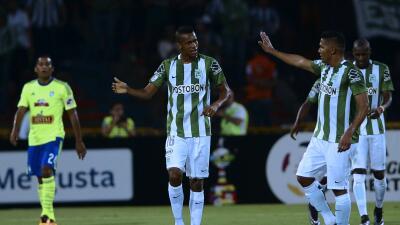 Atlético Nacional golea a Sporting Cristal y Huracán no se detiene ante Peñarol