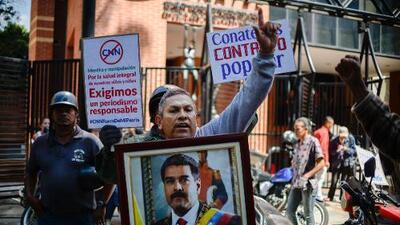 Gobierno de Maduro arremete contra la prensa extranjera en nueva ola de censura