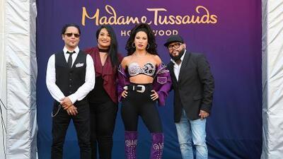 Suzette Quintanilla habla sobre la figura de cera de Selena