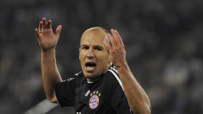 Al finalizar su contrato con Bayern München, Arjen Robben podría sumarse a la MLS