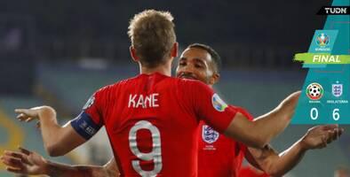 Inglaterra humilló a Bulgaria en choque manchado por racismo