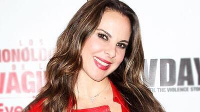 Kate del Castillo habló sobre sus románticos encuentros con Kuno Becker