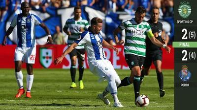 Le dio frío: Herrera no pateó penal en derrota del Porto ante Sporting en la Taça de Portugal