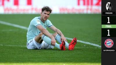 Batacazo en Bundesliga: Bayern Munich tropezó y Dortmund ganó in extremis