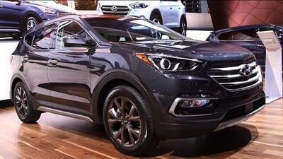 Chicago 2016: Hyundai Santa Fe 2017