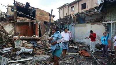 El primero en décadas: un raro tornado deja tres muertos en La Habana