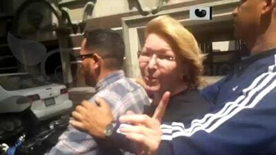Video: Así tuvo que huir en moto la fiscal general de Venezuela Luisa Ortega