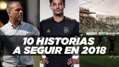 Debuta LAFC, talento juvenil se toma la MLS: Estas son las 10 historias a seguir de la temporada 2018