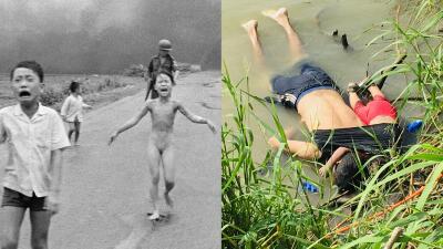 Cuando el dolor de los niños conmueve al mundo: 10 fotografías que desnudaron el sufrimiento de los más pequeños
