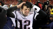 Tom Brady aseguró que han estado abajo, pero nunca afuera