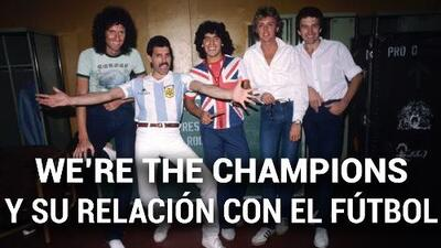 La verdadera historia detrás de 'We're The Champions' de Queen y su relación con el fútbol