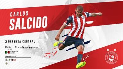 ¡Oficial!: Carlos Salcido es nuevo jugador del Veracruz